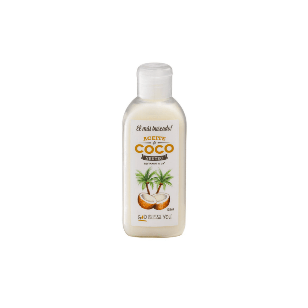 Aceite de Coco Neutro 125 ml God Bless You