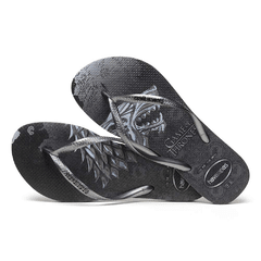 Chinelo Feminino Havaianas Slim Game Of Thrones Got Grafite - comprar online