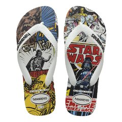 Chinelo Havaianas Star Wars Branco Sandalia Original 2020