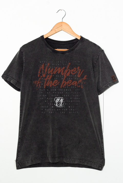 CAMISETA NUMBER OF THE BEAST