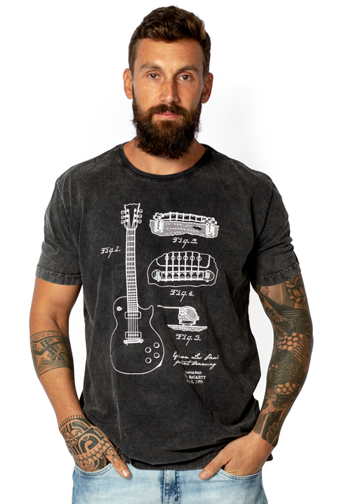 CAMISETA GIBSON LES PAUL