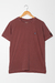 CAMISETA LISA RUBY WINE - loja online