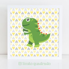 Quadro Dinossauro, ideal para decorar festa infantil