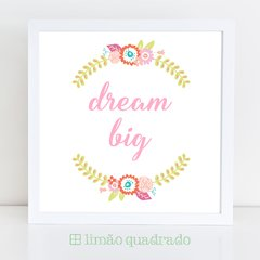 Quadro Infantil Dream Big