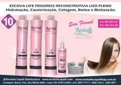 10. Escova Life Progress Liso Pleno