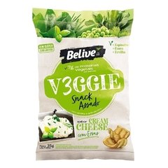 Snack Assado Veggie - Cream Cheese e Ervas Finas