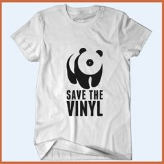 Camiseta Save the vinyl - Salve o vinil - comprar online