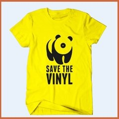 Camiseta Save the vinyl - Salve o vinil na internet