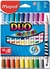 "Marcadores Duo ""Color'Peps"" x10 = 20 - Maped en internet"