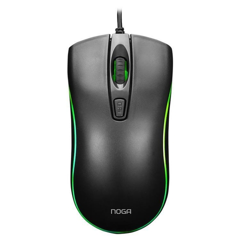 Mouse Gamer Pc Usb Retroiluminado Led Multicolor Noga St-202