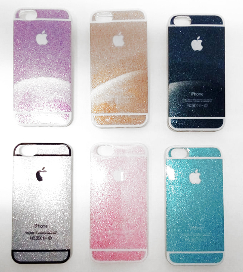 Funda iPhone 5 Ó 5se Case Glitter Brillos Colores - comprar online