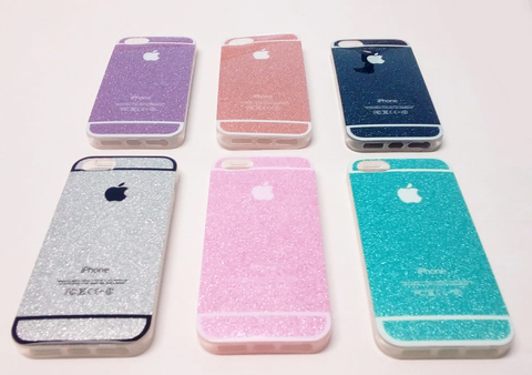 Funda iPhone 5 Ó 5se Case Glitter Brillos Colores