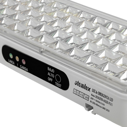 Luz De Emergencia Atomlux 2020 Litio Plus 80 Led Ultra Slim en internet