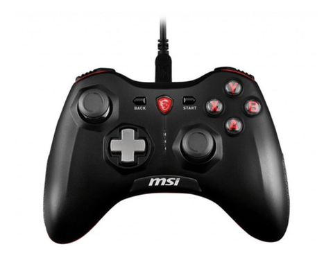 Joystick Gamepad Msi Force Gc20 Negro Cableado