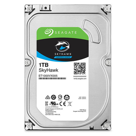 Disco Rigido Duro Seagate 1tb Video Vigilancia Skyhawk Hdd