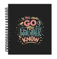 Planner de Redação - If you never go you will never know