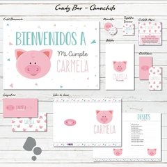 Candy Bar - Entrega Digital - Think Fast Studio