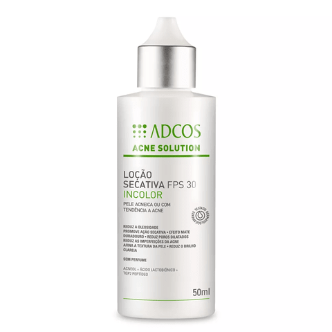 Acne Solution Incolor - 50ml Adcos