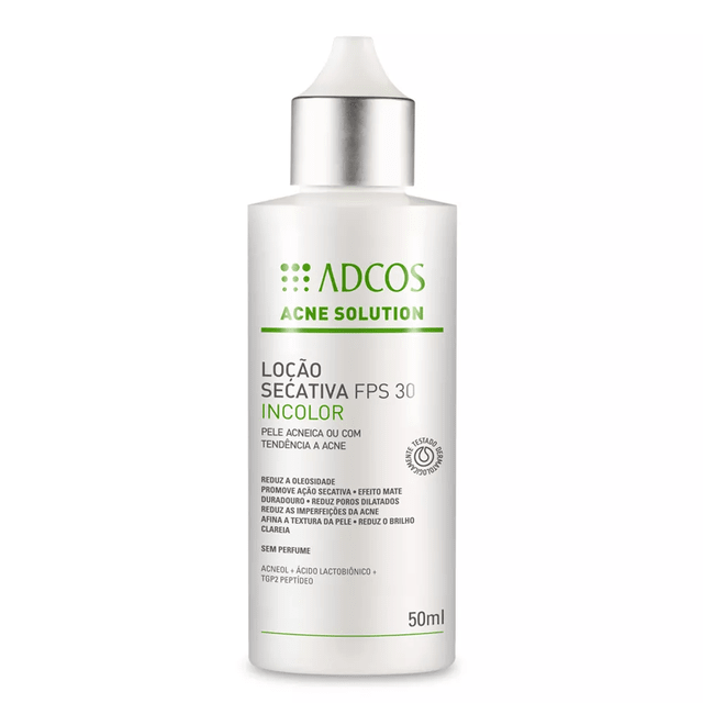 Acne Solution Incolor - 50ml Adcos - comprar online