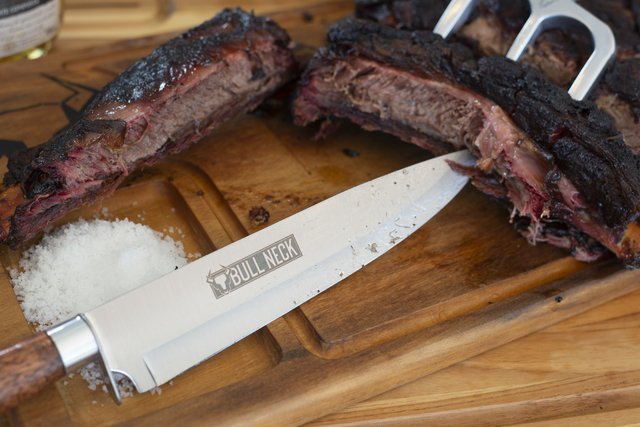"9 ""Stainless Steel Barbecue Knife on internet"