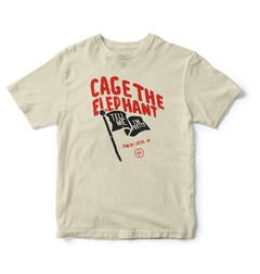 Camiseta Cage the Elephant- Tell me i'm pretty