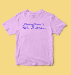Camiseta Written and directed by Wes Anderson - Lolita Vintageria