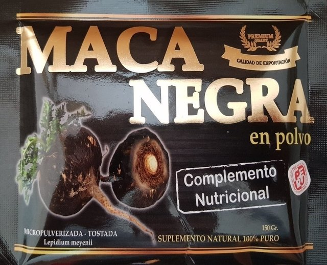 maca peruana negra marcas