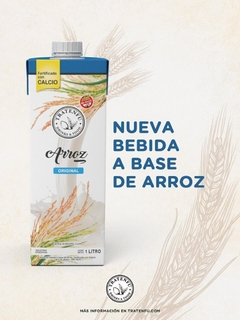 Bebida a base de Arroz x1lt