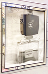 Cuadro Chanel Perfume Up White and Black 66 X 56 CM