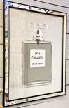 Cuadro Chanel N 5 Black And White 66 X 56 CM
