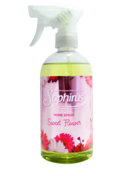 AROMATIZANTE PARA ROPA SWEET FLOWER - TEXTIL HOME SPRAY 500 ML SAPHIRUS