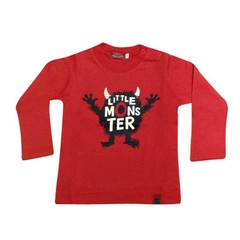 Art. 7395 - Remera bebé Little Monster