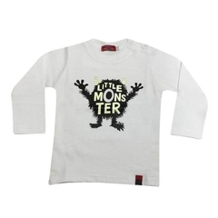 Art. 7395 - Remera bebé Little Monster - comprar online