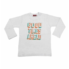 Art. 7764 - Remera niño Good Times Ahead - comprar online