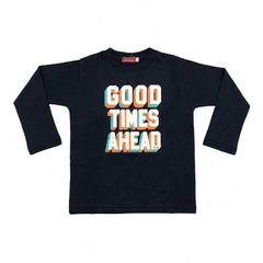 Art. 7764 - Remera niño Good Times Ahead en internet