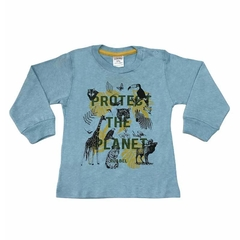 Art. 2478 - Remera bebé Protect The Planet - comprar online