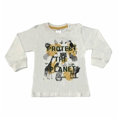 Art. 2478 - Remera bebé Protect The Planet en internet