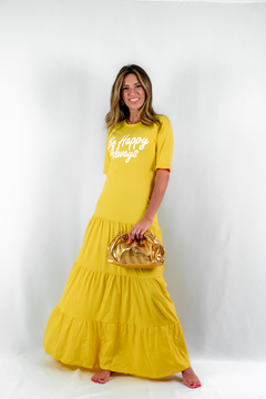 VESTIDO LONGO BY HAPPY