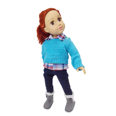 Camisa Jean Y Pulover Conjunto Muñeca Witty 45 Cm/18 Edu - Witty Girls