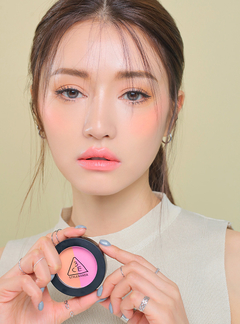 3CE DUO COLOR FACE BLUSH #MISS FLOWER - comprar online