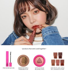 3CE - MOOD RECIPE LIP COLOR #909 SMOKED ROSE (MATE) - comprar online