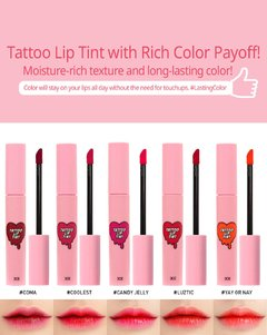 3CE - TATTOO LIP TINT - #COMA 4.2g - JuliJuli Beauty K-shop