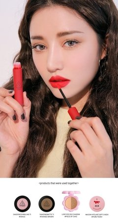 3CE - VELVET LIP TINT #BEST EVER - saldo 50% - JuliJuli Beauty K-shop
