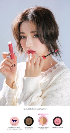 3CE VELVET LIP TINT #Pink Break - JuliJuli Beauty K-shop