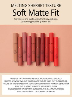 3CE VELVET LIP TINT #New Nude en internet