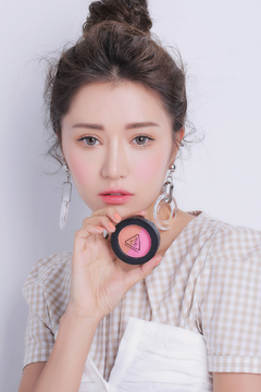 3CE DUO COLOR FACE BLUSH #MISS FLOWER - JuliJuli Beauty K-shop