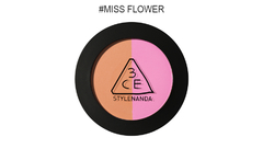 3CE DUO COLOR FACE BLUSH #MISS FLOWER en internet