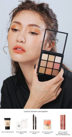 3CE - Multi Eye Color Palette #All Nighter - comprar online