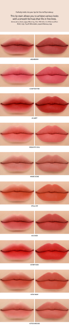 3CE - BLURRING LIQUID LIP #CHAPTER PINK - tienda online
