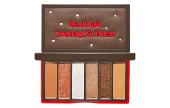 Etude House - Play Color Eyes Mini Palette Rudolph Holiday Edition - #02 Rudolph Pulls The Sleigh